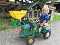 Ich bin heute der Bauer!