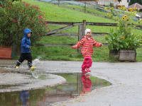 Regen kann auch lustig sein