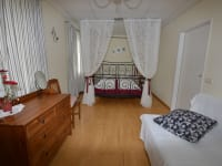 Himmelbettzimmer in der Ferienwohnung