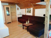 Gut Kehrbachl - Blockhaus - Wohnzimmer