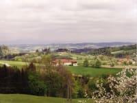 Forellenhof  Aussicht vom Hof