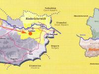Landkarte Österreich
