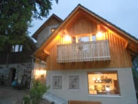 Prannleithen - Knusperhaus in Abendstimmung