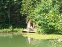 Prannleithen - Teich mit Hütte