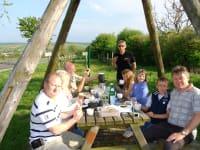 Picknick im Sortenweingarten