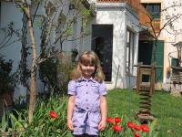 Magdalena im Garten
