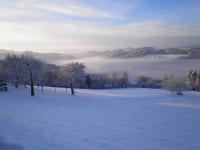 Winterlandschaft am Wachahof