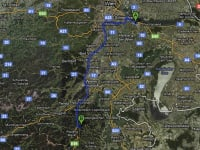 Anfahrtsplan zum Wachahof vom Flughafen Wien-Schwechat