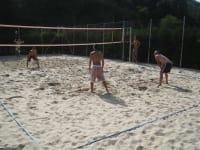 Beachvolleyballplatz in Edlitz
