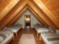 Ferienhaus Gruber List Schlafzimmer mit 4 Betten