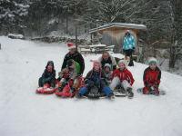 Winterspaß mit Ruschteller