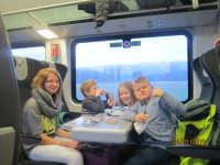 Ausflug mit der Bahn! Super!!