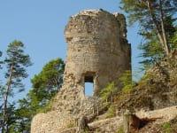 Karhof - Die Burgruine Rabenstein ist ein wunderschönes Ausflugsziel