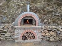 Pizzaofen Außenbereich