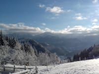 Panoramablick über die Ybbstaler Alpen