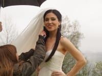 Ukrainische Diplomatenhochzeit im Höhenstein - die fesche Braut Viktoriya