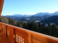 Höhenstein - Familie Helmel - Doppelzimmer Auf der Alm - Aussicht auf die höchsten Gipfel des Mostviertels