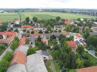 Luftaufnahme über Gerasdorf