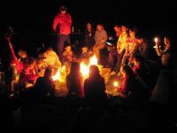 Lagerfeuer & Gruselgeschichten, das ist nur was für Mutige
