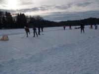 Eishockey am Holzöstersee