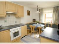 Küche Ferienwohnung Glockenblume