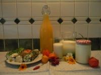Köstlichkeiten von der Milch