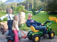 Nachwuchsbauern im Einsatz