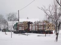 Holzabholung