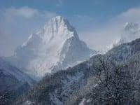 Spitzmauer im Winter