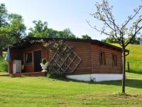 Ferienhaus in Blockbauweise