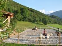Urlaub bio Pferde Reiten