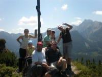 Gipfelsieg auf den Kampermauern im Wanderurlaub in Österreich