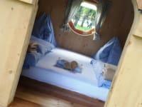 Schlafen im Urigen Holzhaus
