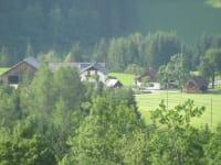 Bergblick zum Ferienhof Hotz