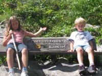 Lotte und Jop bei Wandern! endlich Pause