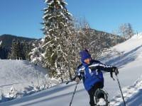 Gratis-Schneeschuhverleih