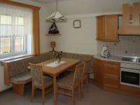 Küche - Ferienwohnung