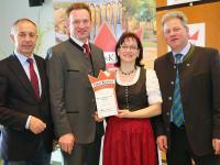 Verleihung der GENUSSKRONE (2014) an Andreas und Christine Moser