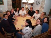 ein geselliger Kartenspielabend