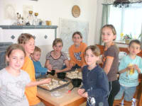 Weckerl backen