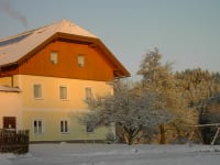 schöner Wintertag