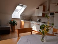 Wohnküche Morgensonne