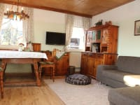Ferienwohnung Kachelofen - Stube/Wohnzimmer