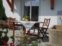 Ferienwohnung Kräutergarten - Terrasse