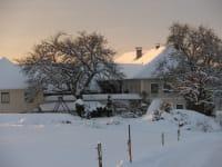 Bauernhof Simader im Winter