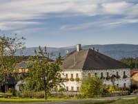 mit Blick auf den Böhmerwald