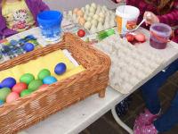 Eier färben macht Spaß