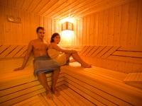 Gemütlicher Saunagang