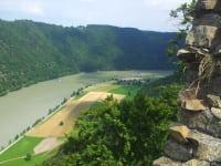 Blick von Haichenbach auf Donauschlinge