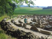 Steinelabyrint  Hofkirchen